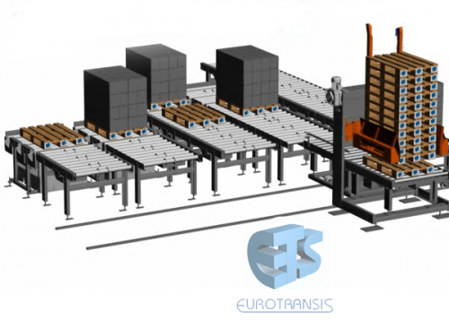 Machinery for pallets